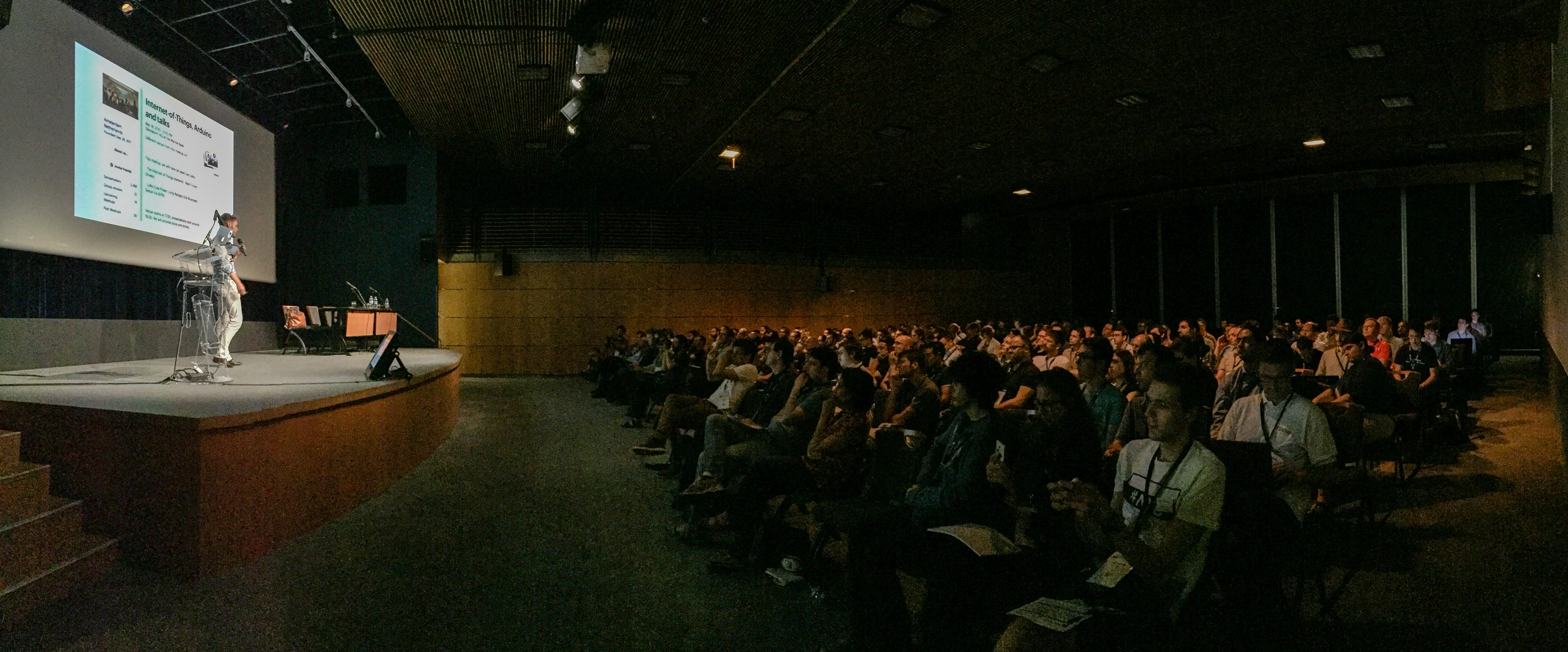 Picture taken during the Keynote