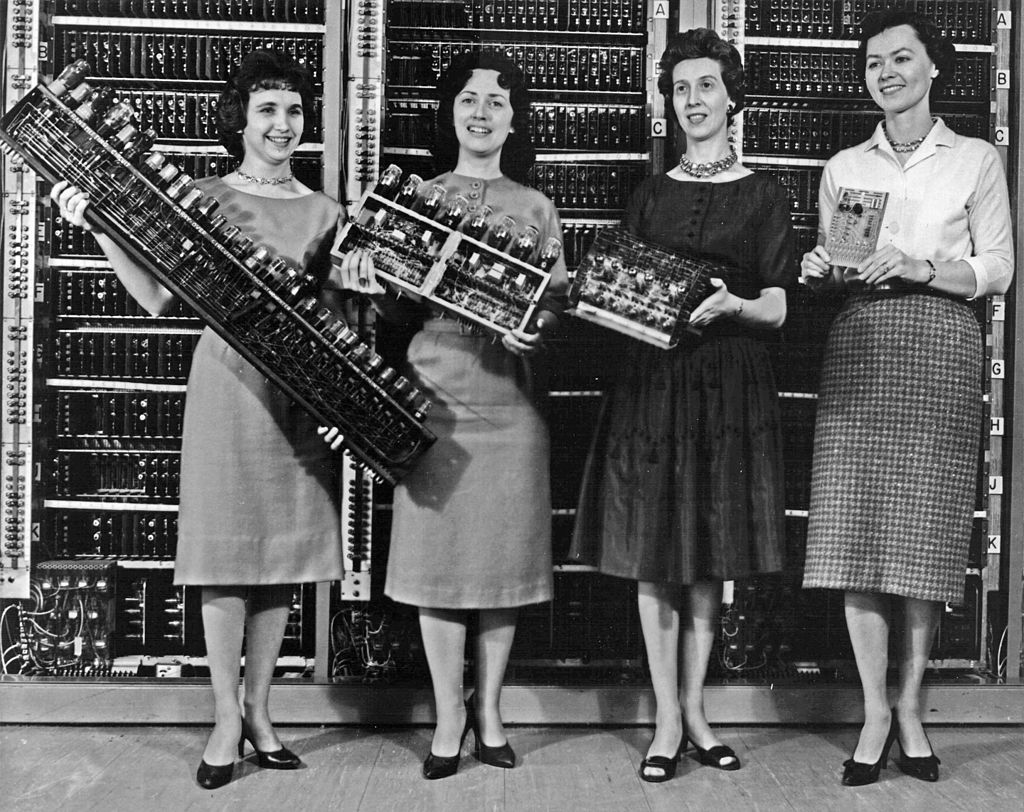 """""""When the computer wore a skirt"""" — Katherine Johnson"""